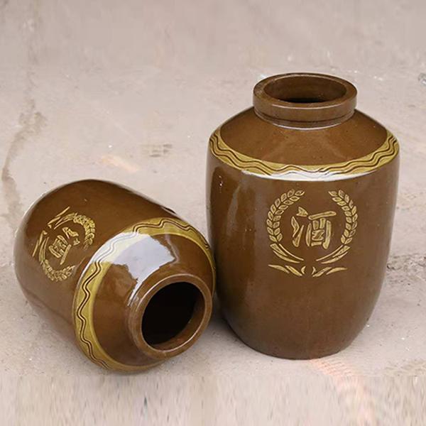 小型土陶酒缸
